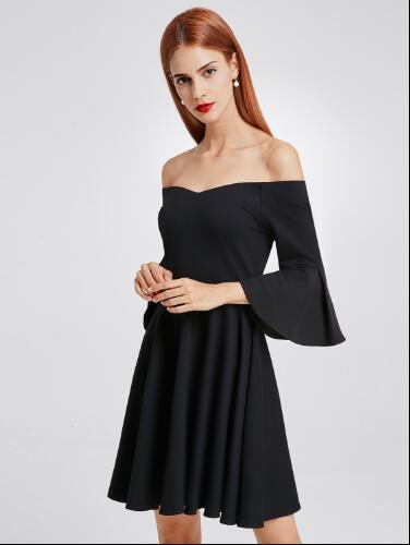women off shoulder mini dress